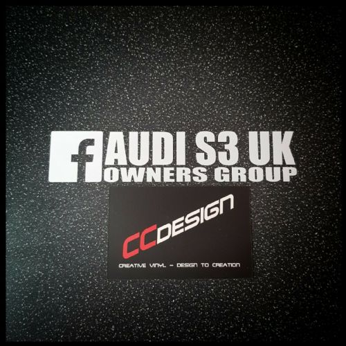 """OFFICIAL"" AUDI S3 UK OWNERS GROUP 150mm or 200mm"
